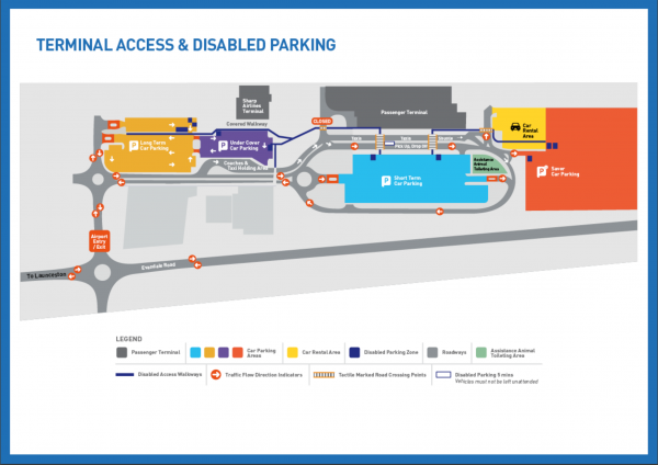 Terminal Access And Disabled Parking