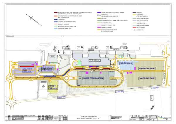 Launceston Airport Parking Signage Plan 14122017